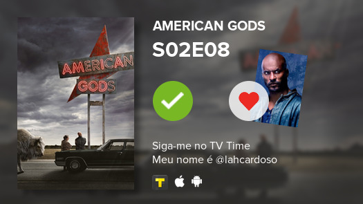 Ive just watched episode S02E08 of American Gods! #americangods #tvtime tvtime.com/r/1gA6Y