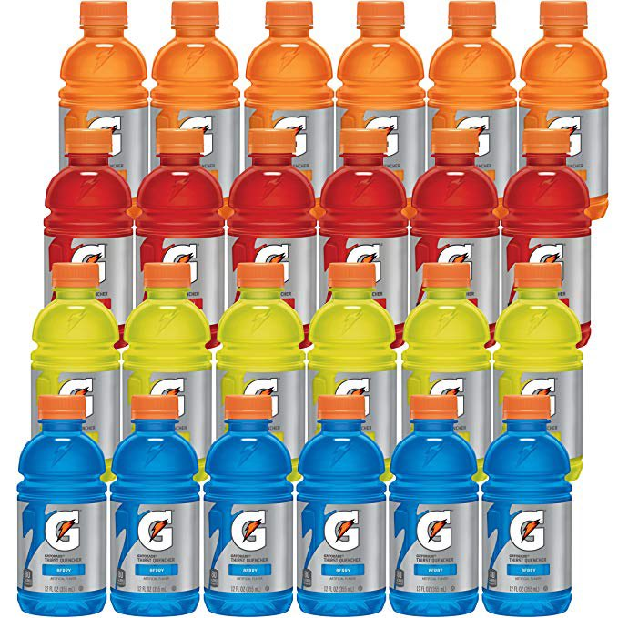 Gatorade Classic Thirst Quencher, Variety Pack, 12 Ounce Bottles (Pack of 24)  $9.55 with Free Prime Shipping   Clip the $1.21 off coupon on page   #steals #deals #stealsanddeals