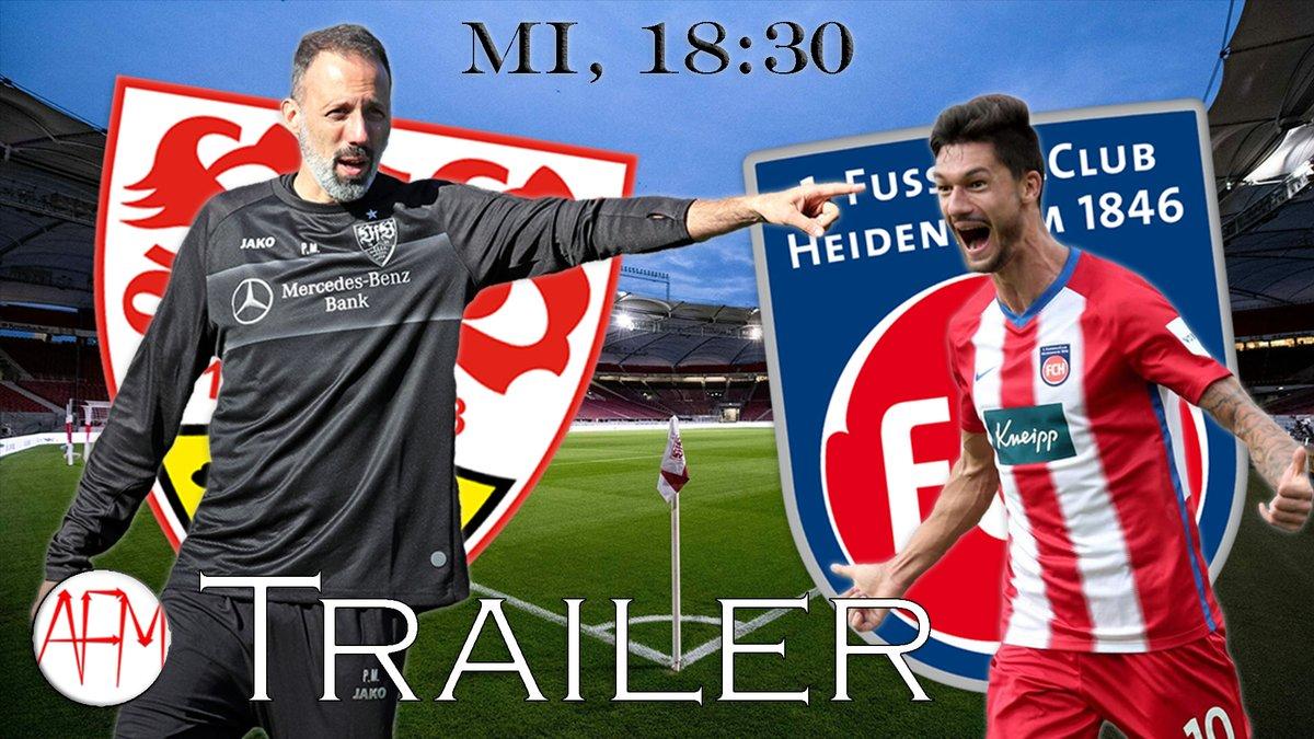 Diesmal leider aus Zeitgründen ohne PK.  In 24h geht's ins wichtige Heimspiel gegen Heidenheim.  Gönnt euch den Trailer zum Spiel! https://youtu.be/KdRrdvMC3aI #vfbfch #vfb #fch #vfbstuttgart #stuttgart #fcheidenheim #heidenheim #bundesliga2 #fußball #trailerpic.twitter.com/AGVHzl8Fhs