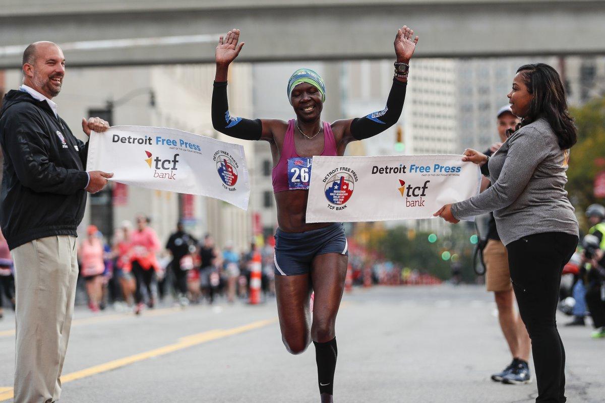 detroit free press half marathon 2020