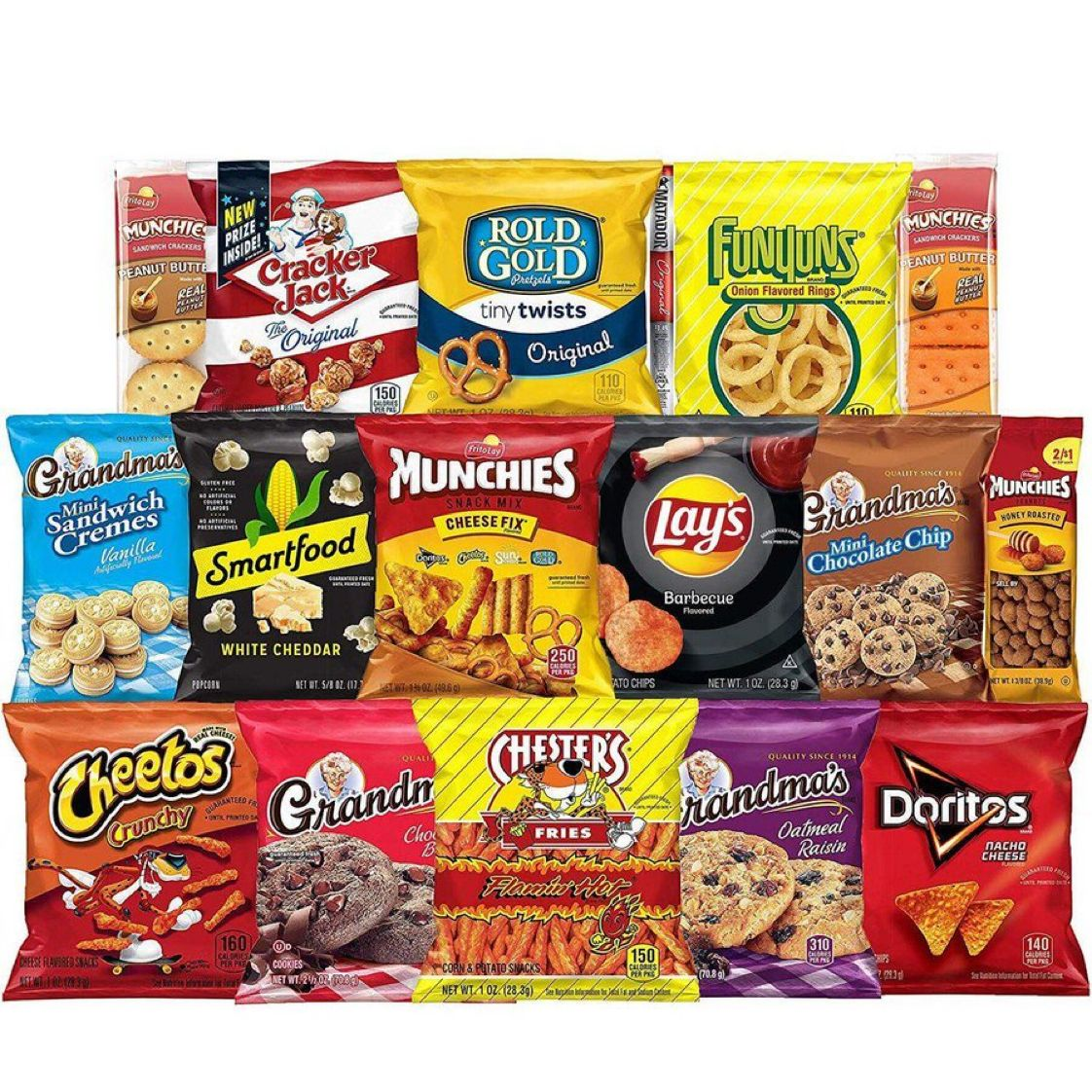Ultimate Snack Care Package, Variety Assortment of Chips, Cookies, Crackers & More, 40 Count     $15.37 with Free Prime Shipping      #steals #deals #stealsanddeals