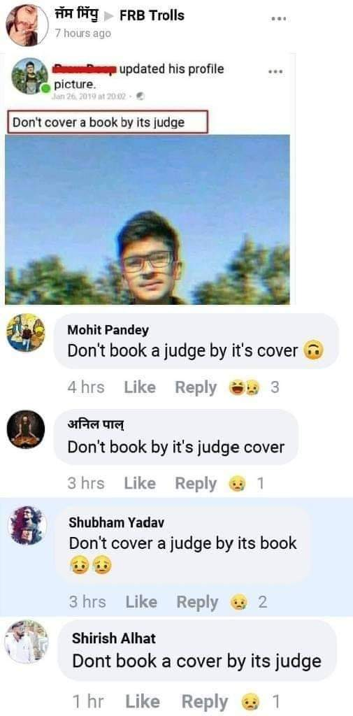 Don't book a cover by its judgepic.twitter.com/KTYkTYl0iQ