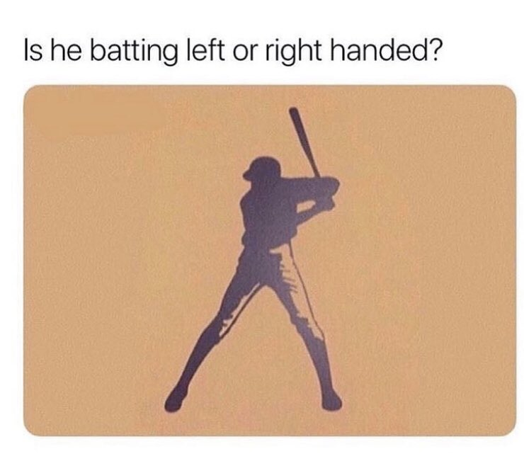 Trying to see something... RT for Left Handed Like for Right Handed