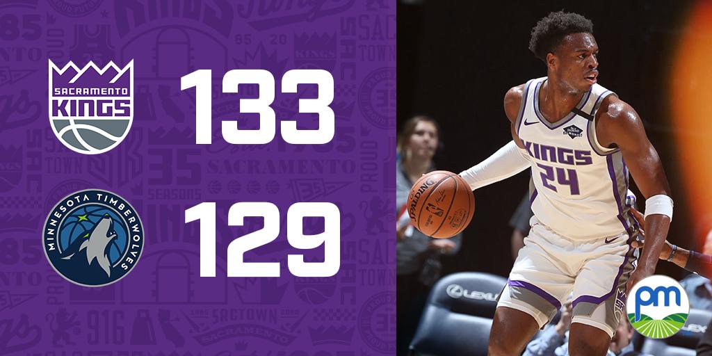 Sacramento Kings @SacramentoKings