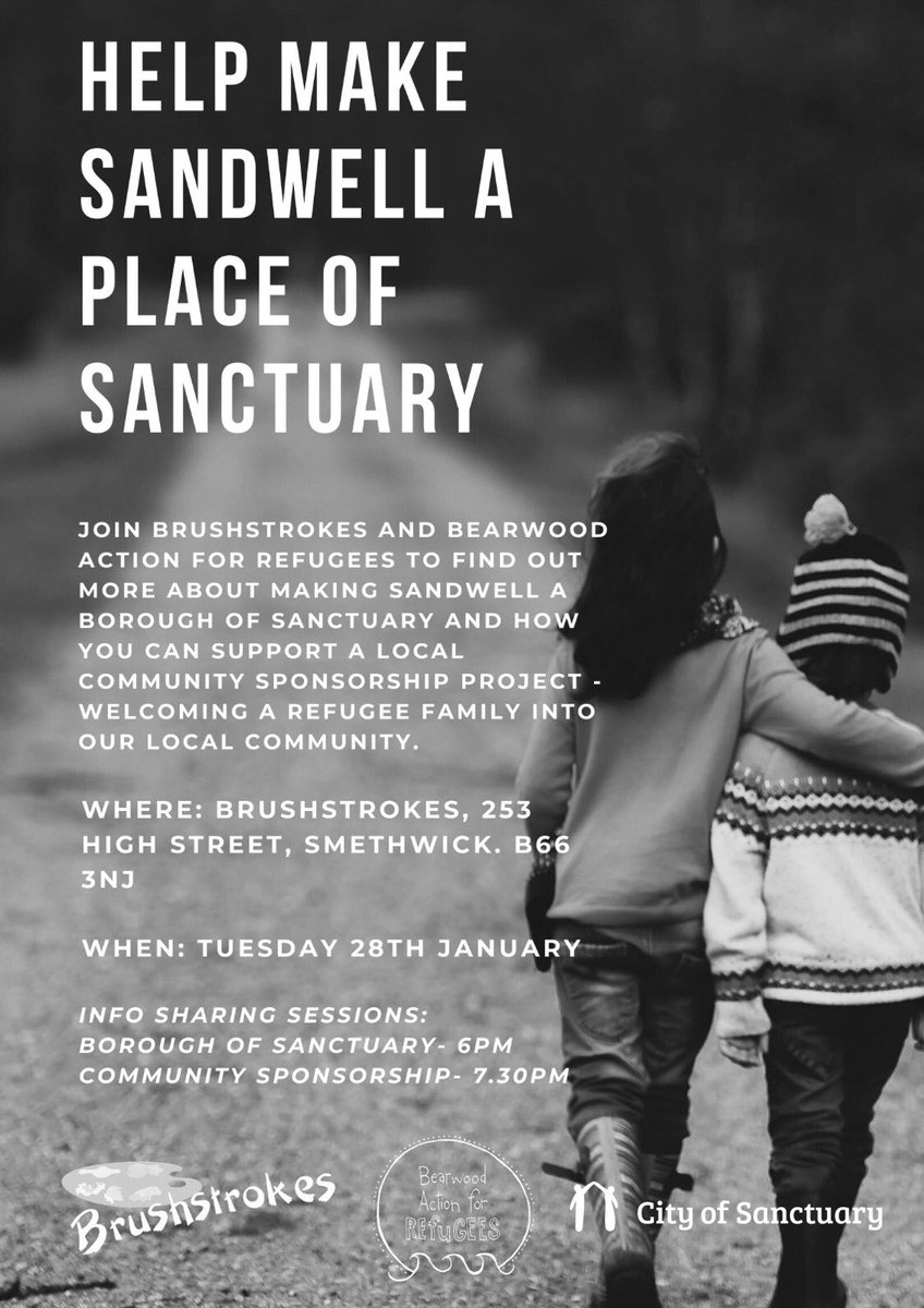 Great to be at Brushstrokes with @BearwoodAction helping to make Sandwell a place of sanctuary