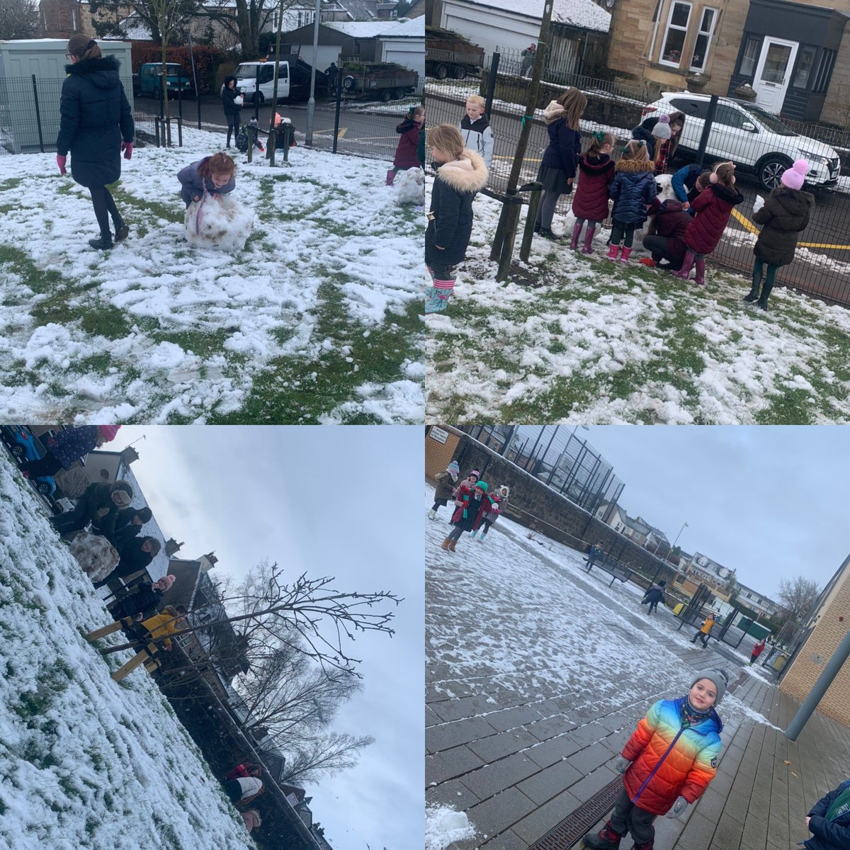 P1, P2 & P7 having some fun in the snow! #TeamKirkton #PlayingTogether #ExploringTogether pic.twitter.com/swT6e9ug10