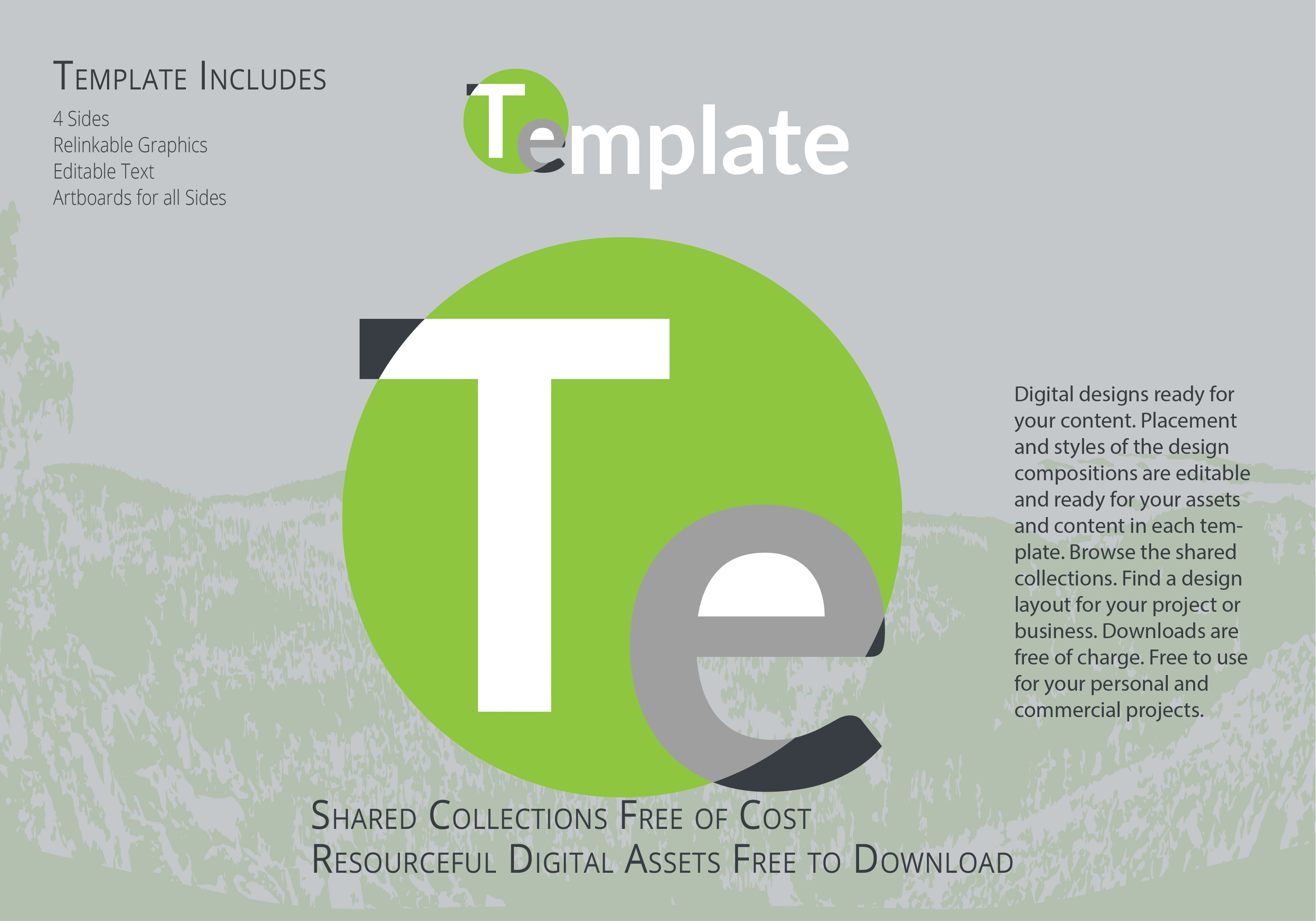 Download Free Template - Package 10in Design - Illustrator Package Design Template Download
