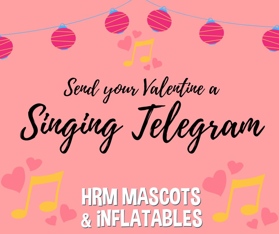 Check out this Singing Telegram video from 2018!  https://www.youtube.com/watch?v=12KP77DE9qY …  Valentines day is coming, does a singing telegram sound like something you would want to send to someone you love?  Then visit our website to book YOUR singing telegram today.  #ValentinesDay #ShopLocalpic.twitter.com/sRu5u94Tpu