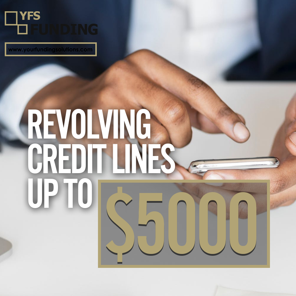 Revolving Credit Lines Up To $5000 #business #makemoney #businessowner #businessman #businessowner #credit #needmoney #onlinebusiness #instagood #2instagood #creditrepair #credits #ineedmoney #makemoneyonline #crowdfunding #businessowners #businessonline #businessmindedpic.twitter.com/M30sZoF9JR