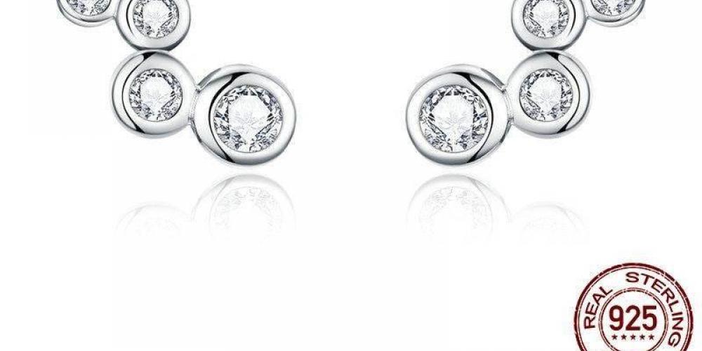 #Cheapjewelry #jewelryandwatches   Bubble Long Stud Earrings for Women  https://accessoriestoshine.com/product/bubble-long-stud-earrings-for-women/…   9.95 Bubble Long Stud Earrings for Women   Material: S925 Sterling Silver  Material: Cubic Zirconia  Pattern: Geometric  Size: ...pic.twitter.com/oa76MbthjU