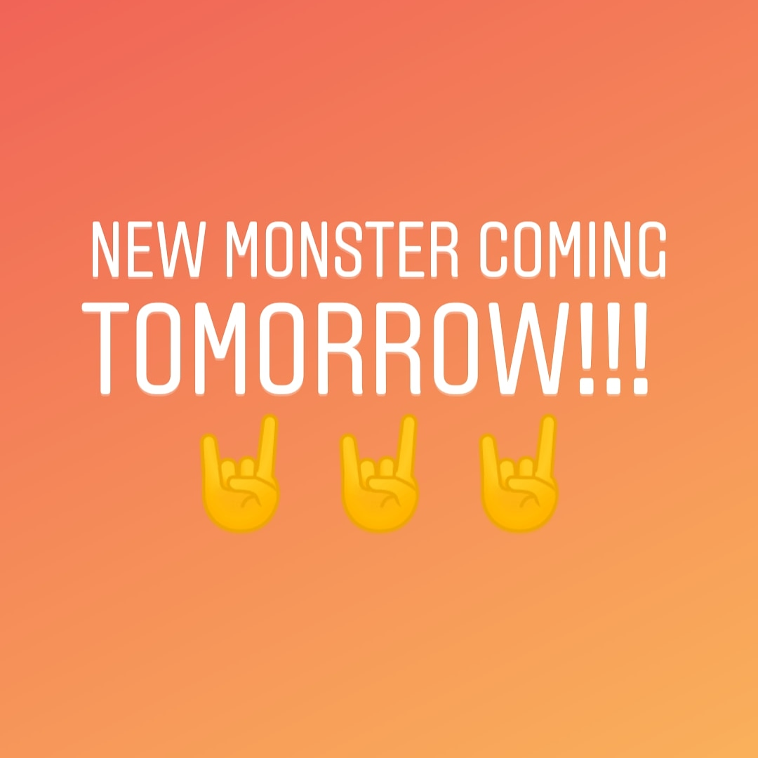 """Hey new monster tomorrow!!!!!  Follow me on Instagram and facebook for more """"VACTRY GAMES""""#ComingSoon #unity #art #2dart #gameart #videogameart #gamer #viral #indiedev #indie #indiegamer #indiegame #developers #soundtrack #musicpic.twitter.com/l54g3Fi8ps"""