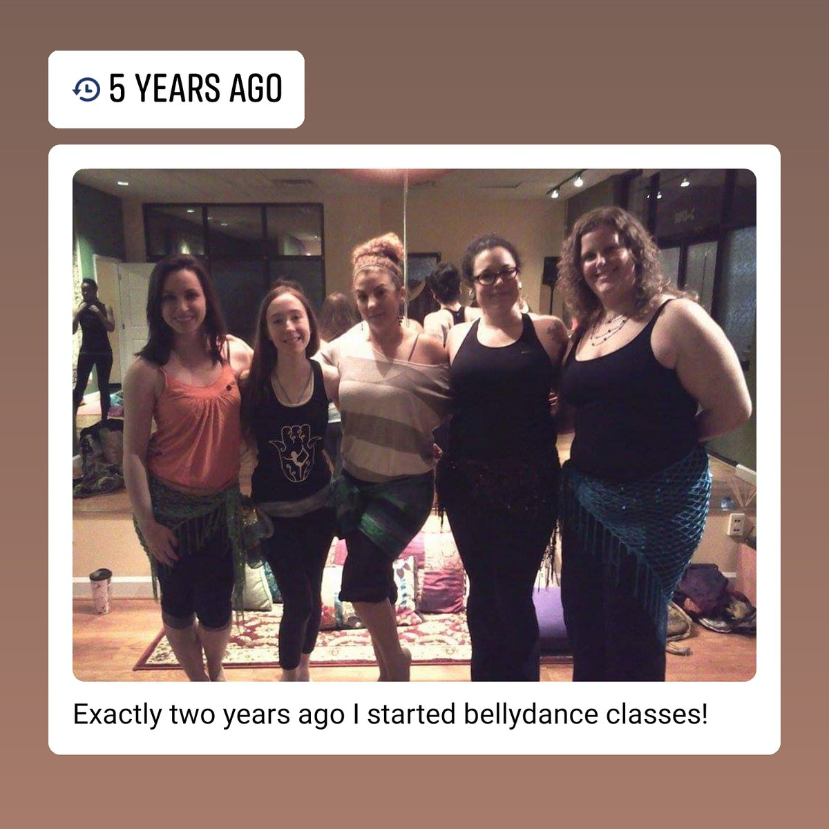 It's my 7 year bellydance anniversary today! pic.twitter.com/oNGSNM6EaU