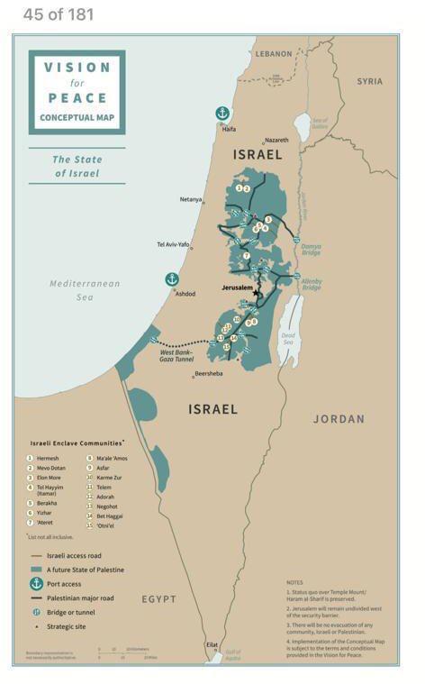 Mapa de palestinian antes y despues de adelgazar