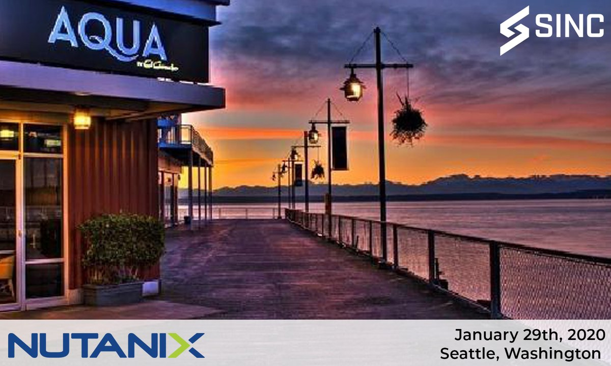 Partnered with @nutanix, tomorrow evening we will host the Seattle IT Leaders Dinner. Topics will be centered around Business Transformation and Building a Sustainable Hybrid Cloud Strategy. Interested in attending one of our dinners? Visit, https://hubs.ly/H0mz0cL0     #SINC #ITpic.twitter.com/3FvINFjSPF