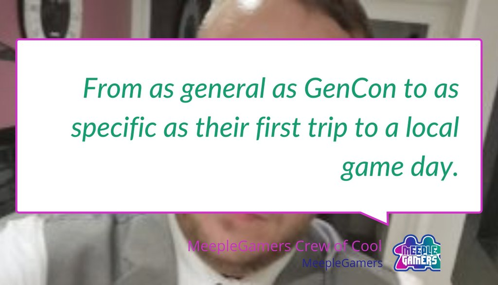 Chatty Meeples 4: What is your favorite gaming event? https://lttr.ai/Mm6P #Chattymeeples #GenCon #Conventions #Jeuxdesociete #Marathon #Tabletopgames #Juegodemesa #GlossaryOfBoardGames #Jogodetabuleiro #Brettspiel #Boardgames #Chattyfacespic.twitter.com/KrdzH8IFQ6