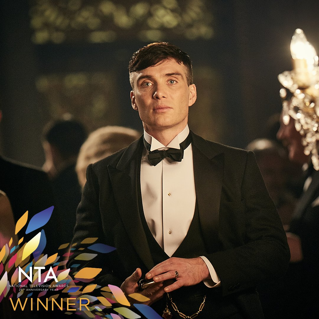 What a win! 💪 Cillian Murphy takes Drama Performance, for their role in Peaky Blinders! ✨ #NTAs https://t.co/hvt34Vs5qr