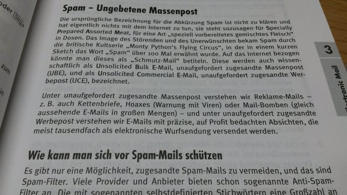 Spam – Ungebetene Massenpost