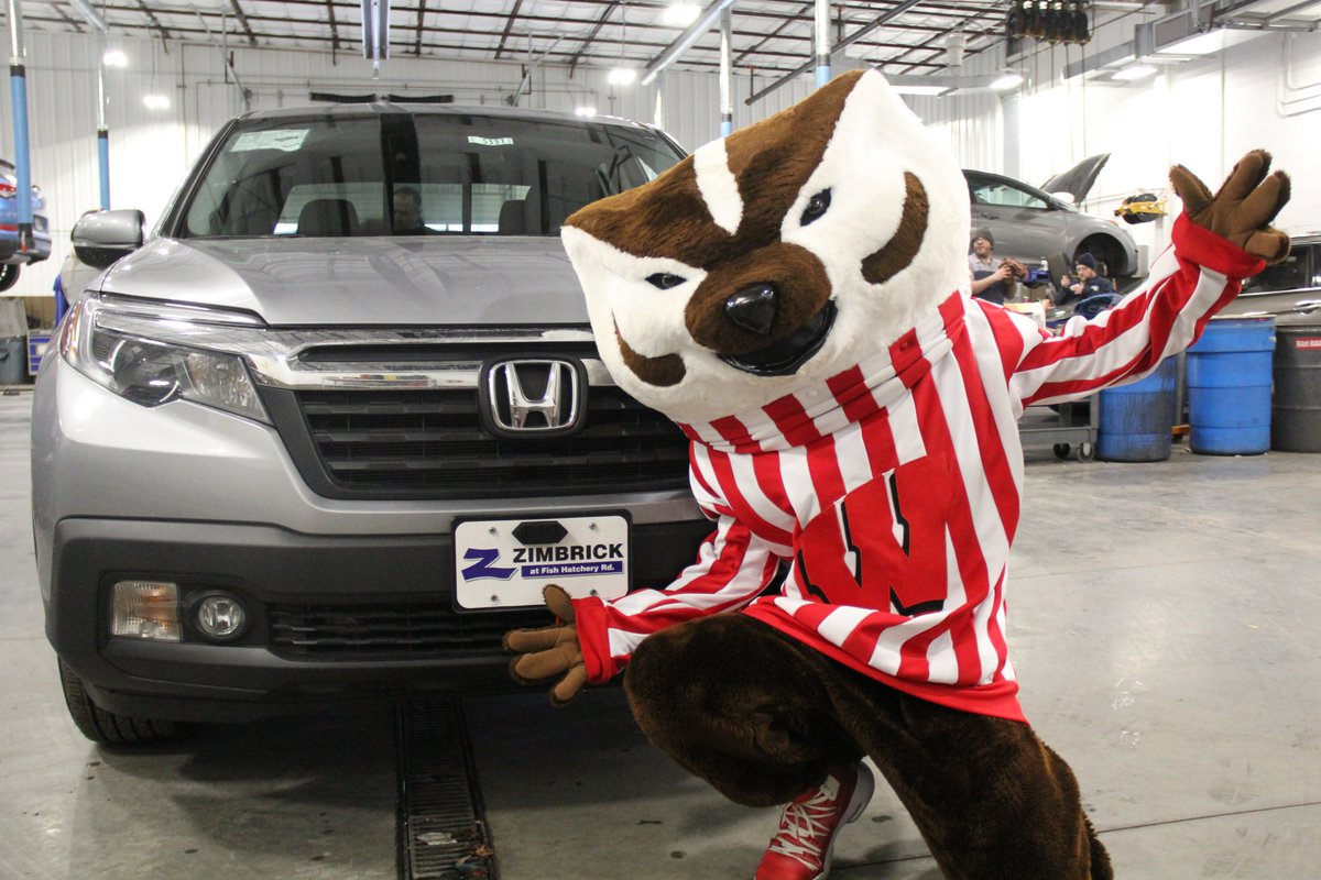 Bucky heard Zimbrick was celebrating National Have Fun at Work Day today and decided to stop on by! We had Culvers Custard on deck for all of our employees! Thank you to everyone that hung out today, Bucky told us he had a blast!