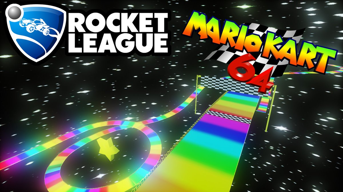 Lethamyr On Twitter My Mario Kart 64 Rainbow Road Is Now On The