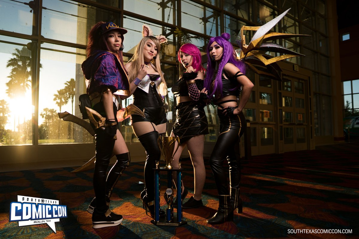 Who will be a 2020 #Cosplay champion? It's never too early to plan yours!  #kda #LeagueOfLegends #LeagueOfLegendscosplay pic.twitter.com/HYA49cWiJo
