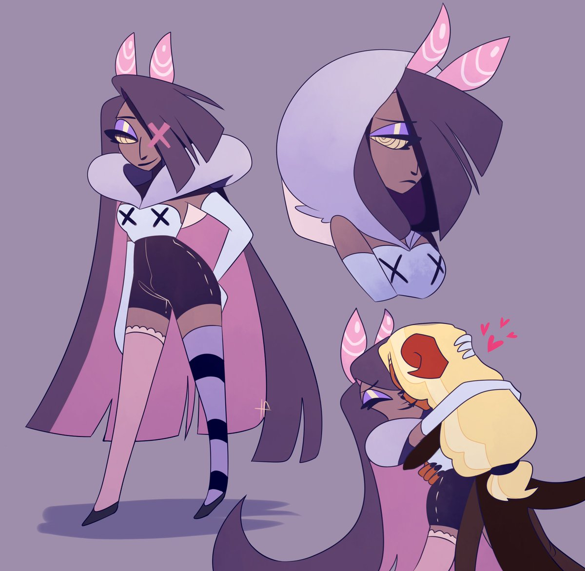 Leetle Lie On Twitter I Wish There We Re More Charlie With Vaggie Content I Really Dislike Charlastor Hazbinhotel She is the manager of the happy hotel. leetle lie on twitter i wish there we