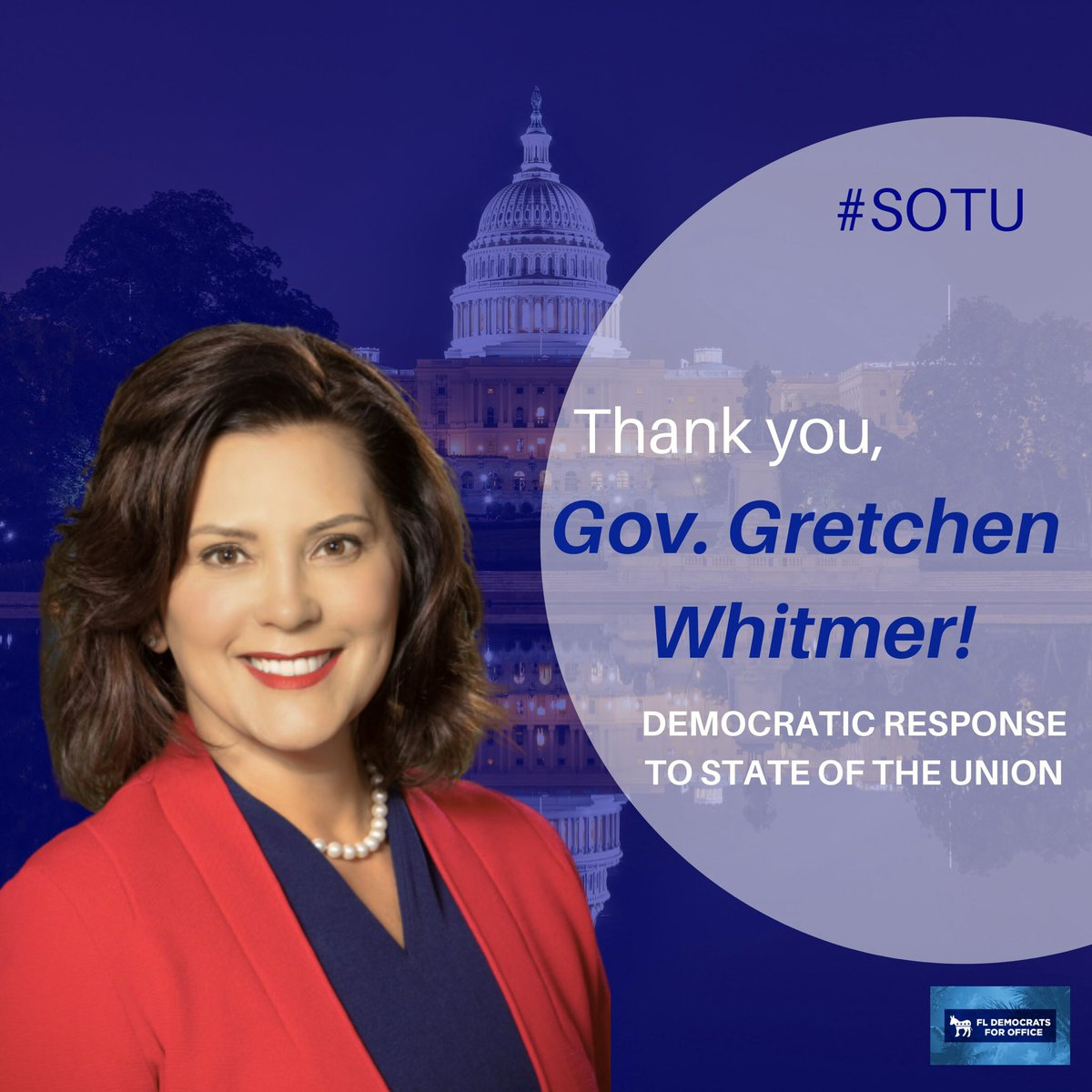 Gov. @GeWhitmer, couldn't have said it better, education is essential for the betterment of this next generation. Together, we will join in our efforts to improve the quality of life for all Americans. ⁣ ⁣ Enough with the lies, enough with the same talking points filled with
