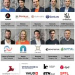 Image for the Tweet beginning: The Swiss National Startup Team