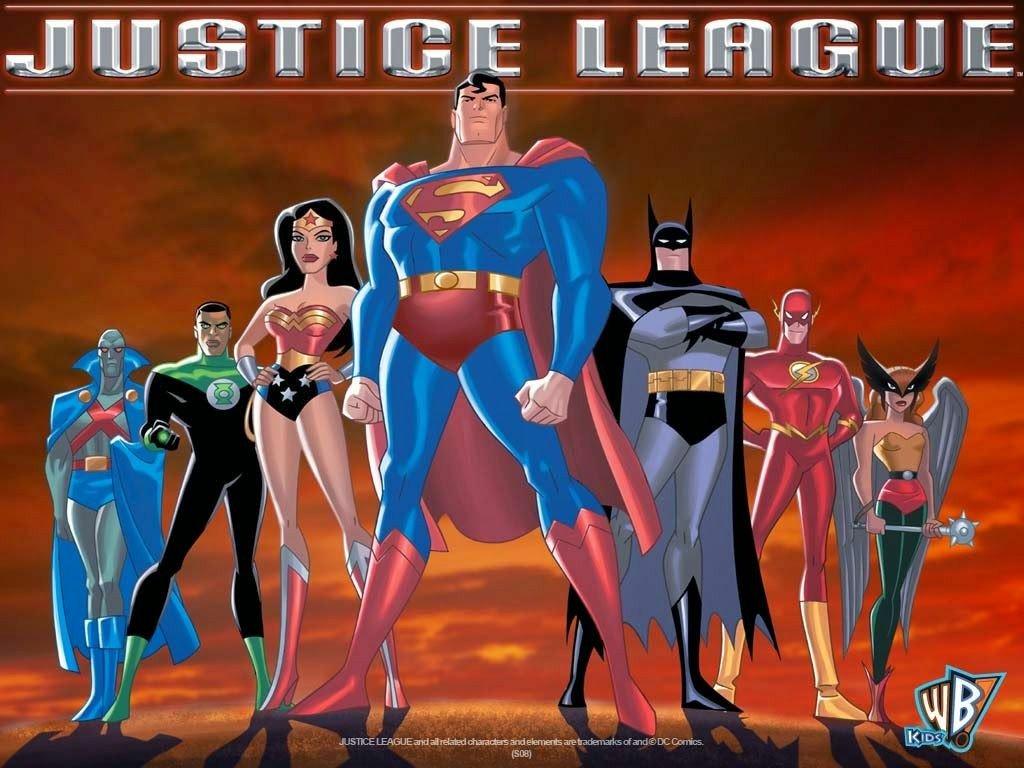 justice league cartoon - HD1600×900