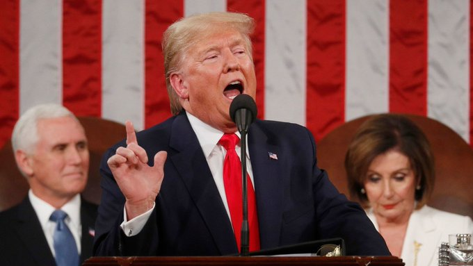 Trump returned his onslaught against independent country governments.
