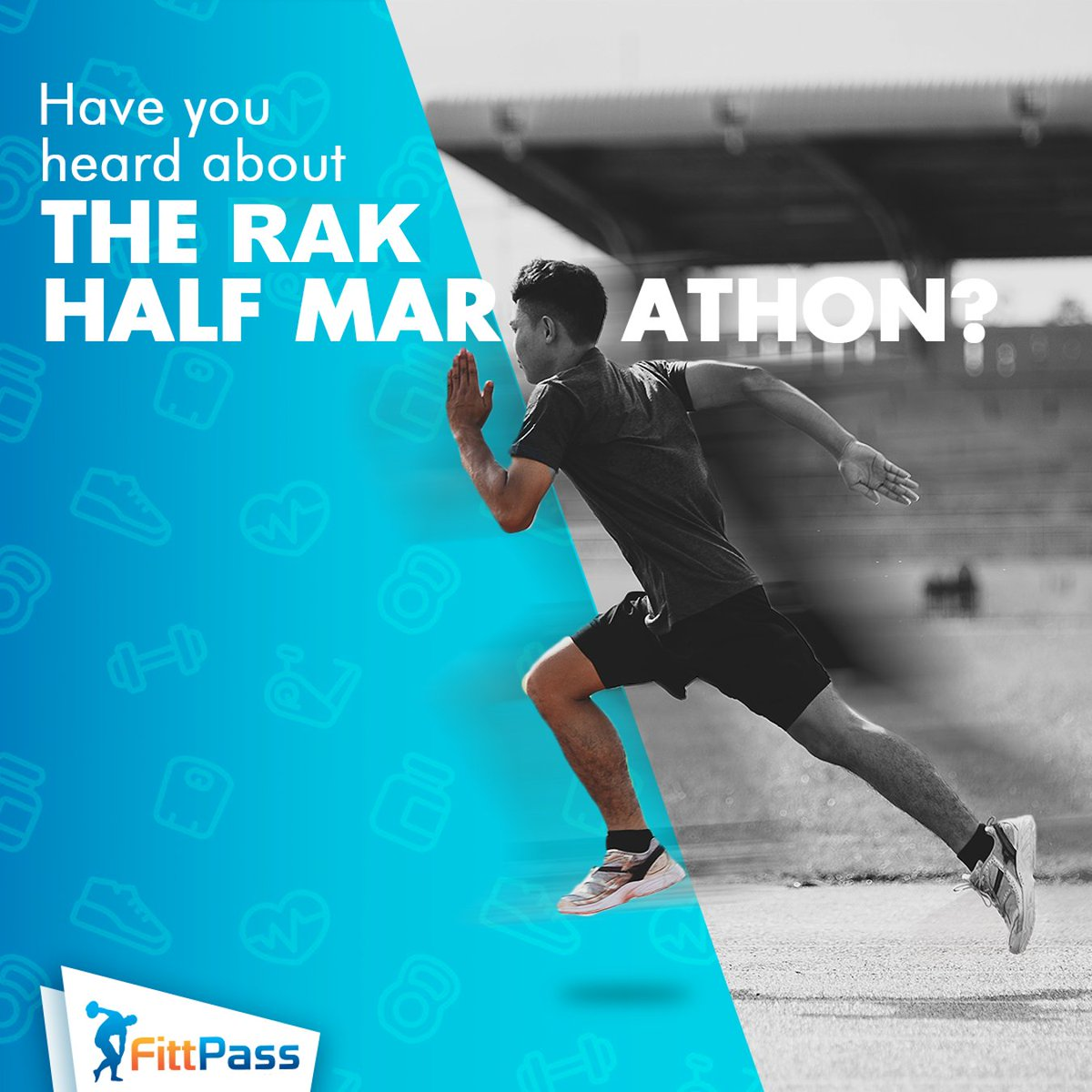 The world's fastest half marathon is happening in Ras al Khaimah on the 21st of February, are you ready for it?   Register before the 15th of Feb to participate => https://snip.ly/lfmedx   #RAKHalfMarathon #UAEMarathons #MarathonTraining #FittPass