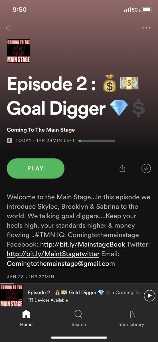 EPISODE 2. GOAL DIGGER IS NOW OUT ON SPOTIFY#dancerpodcast #womensupportingwomen #entertainer #pole #exoticdancer #stripper #stripperpodcast #poledancer #feminism #feminist #teamclearheels #highheelhustle #bossbabes #exoticdanceadvice #comingtothemainstagepic.twitter.com/jKKD2zMoK0