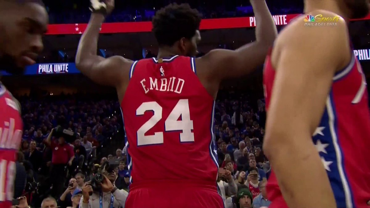 Photos: Joel Embiid Is Wearing No. 24 Tonight For Kobe Bryant