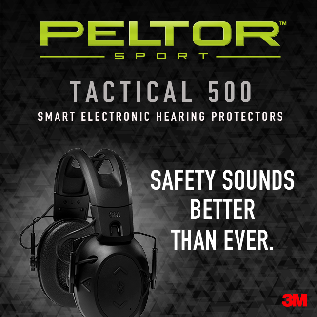 Protect your hearing, invest in the Peltor Sports Tactical 500! Click  https:// bddy.me/2GA95Lu      to learn more and enjoy your day at the range! @3M #shootingsports #Earprotection #Shootingrange #Guns<br>http://pic.twitter.com/Jo2RJuFBhP