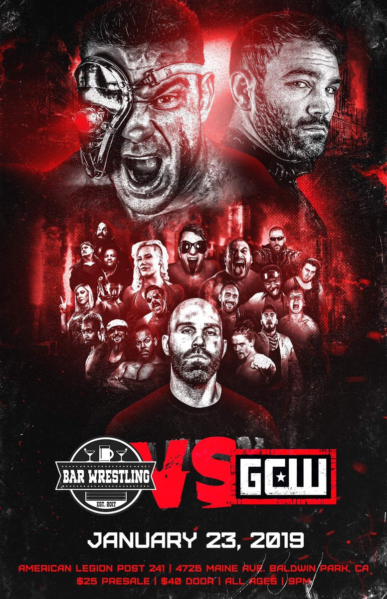 Replying to @HighspotsWN: NOW STREAMING on the #HSWN!  @BarWrestling VS @GCWrestling_!!!