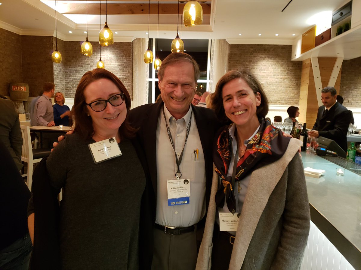 Our favorite pic of the whole @ToxicologyForum!!