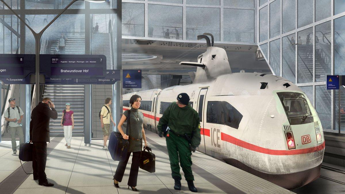 ICE Modell U - Special Edition für Stuttgart 21
