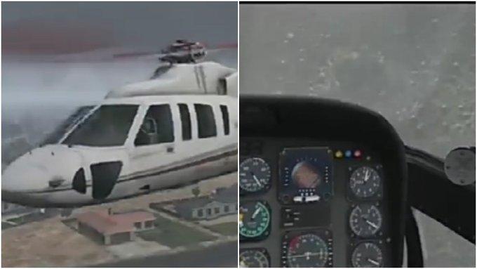 【影片】太真實了!網友用模擬器模擬出Kobe墜機路線,可能到最後都不知道要撞山!