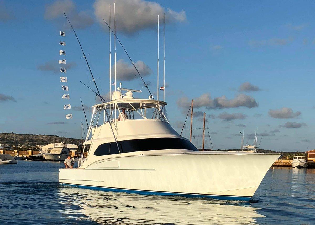 Bonaire - Alina released 2 Blue Marlin and 8 Sailfish.