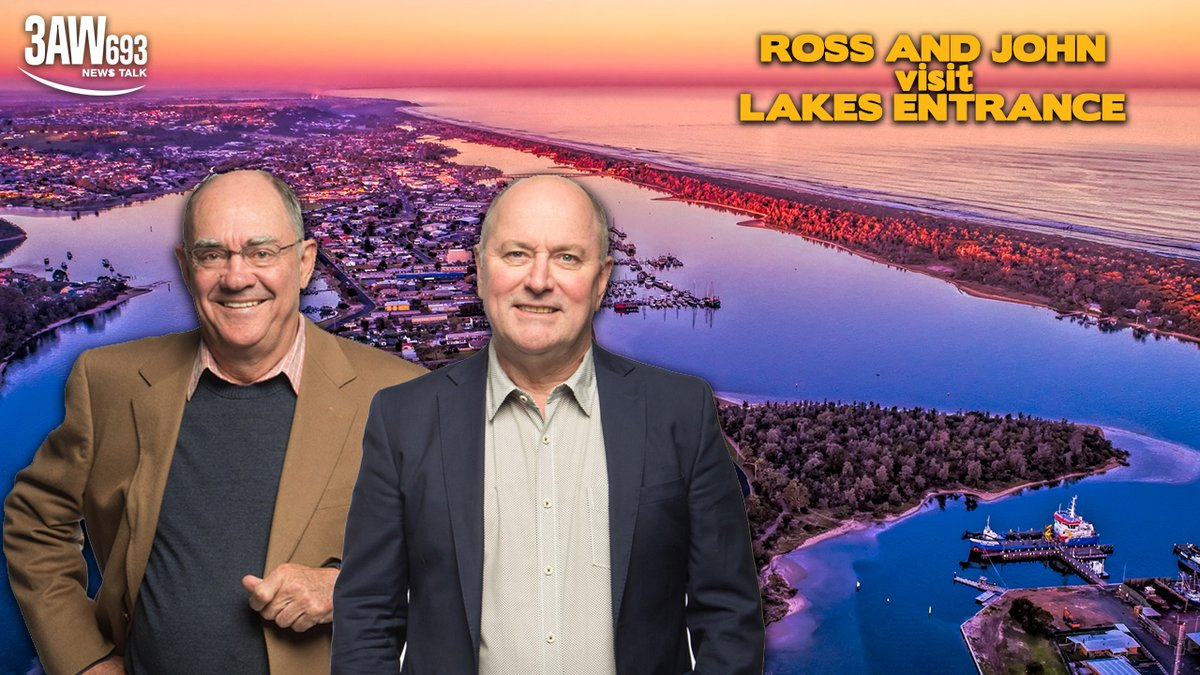 Its been a rough summer for East Gippsland, with bushfires burning and vital tourism taking a major hit as a result. But the region is well and truly open for business! So the boys are heading down there to check it out. Ross and John. Live from Lakes Entrance on Friday!