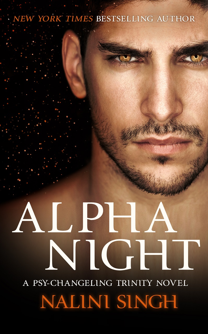 International cover of ALPHA NIGHT, A Psy-Changeling Trinity Novel