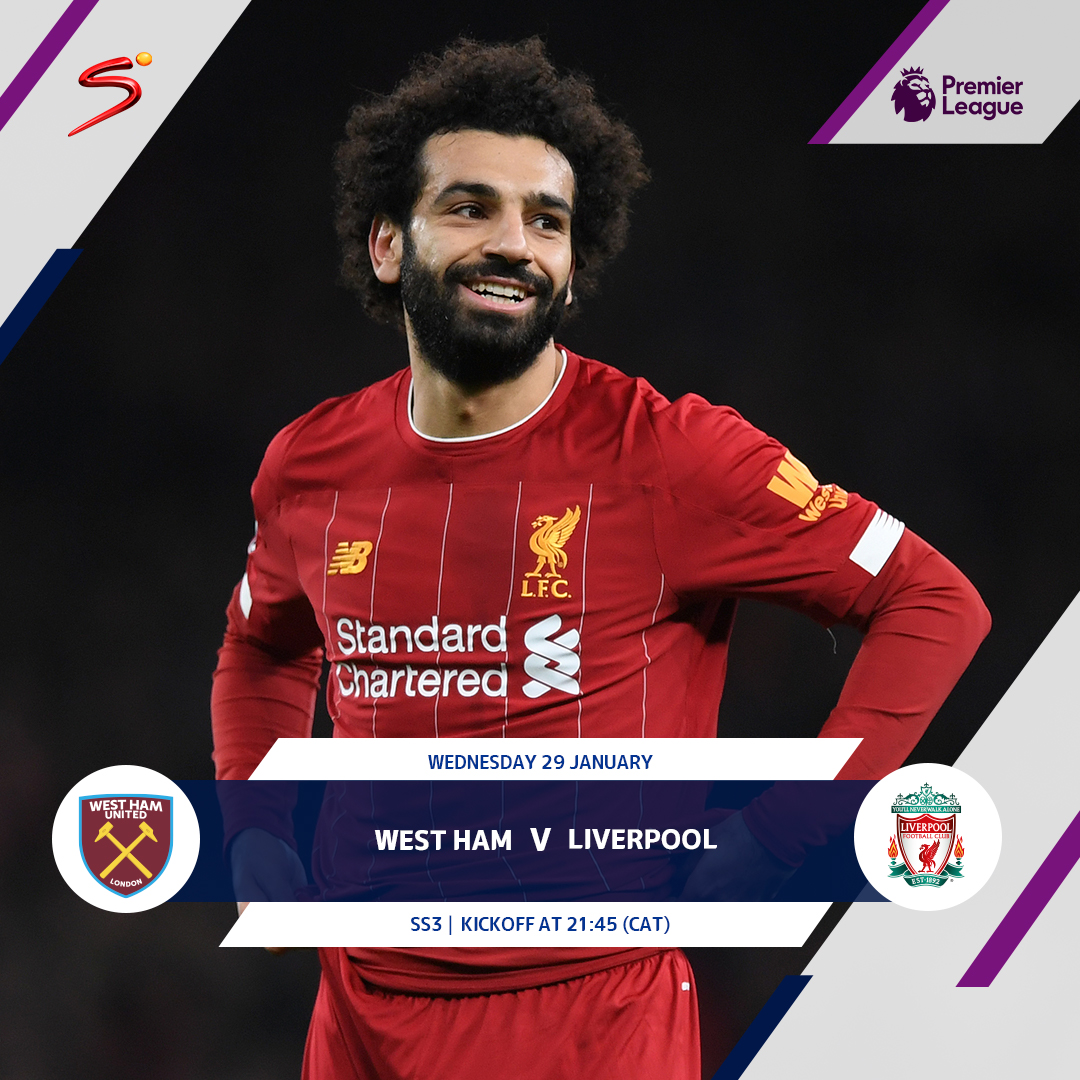 West Ham face a tough test tonight, when they face #PremierLeague leaders Liverpool! Will they be the first to beat Jurgen Klopps men this season?? RECONNECT NOW bit.ly/MyDStv_App #AlwaysFootballTime