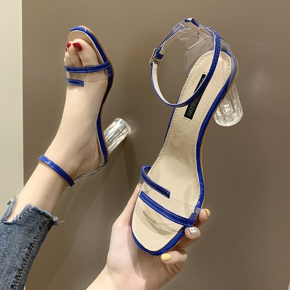 #amazing #instamood PVC Color Block Heels