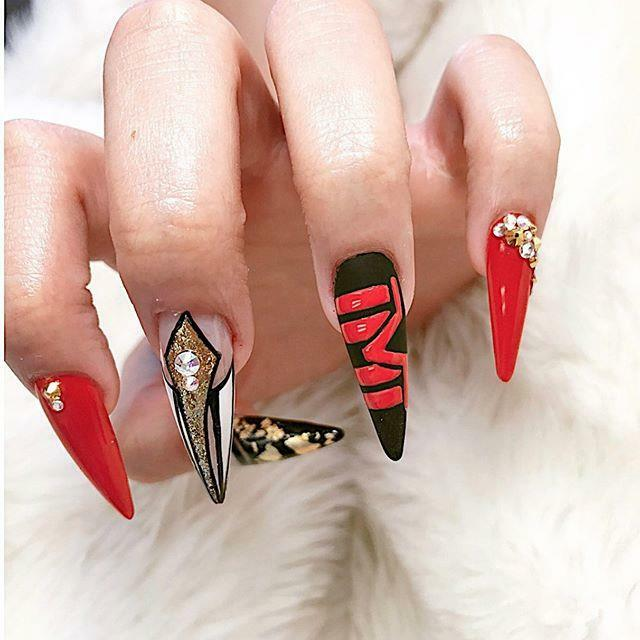 Acrylic Full Set Gel Nail Art Design on 01/28/2020. @popnaillv #BTS #BTSARMY #BT21 #BTS #BTSNAILART #BT21NAIL #beauty #lash #lasvegas #salon #lounge #vegas #nail #nailsalon #nailarts #naildesign #kawaii #japanesenail #japanese #gelnail #nailspa #nailart …