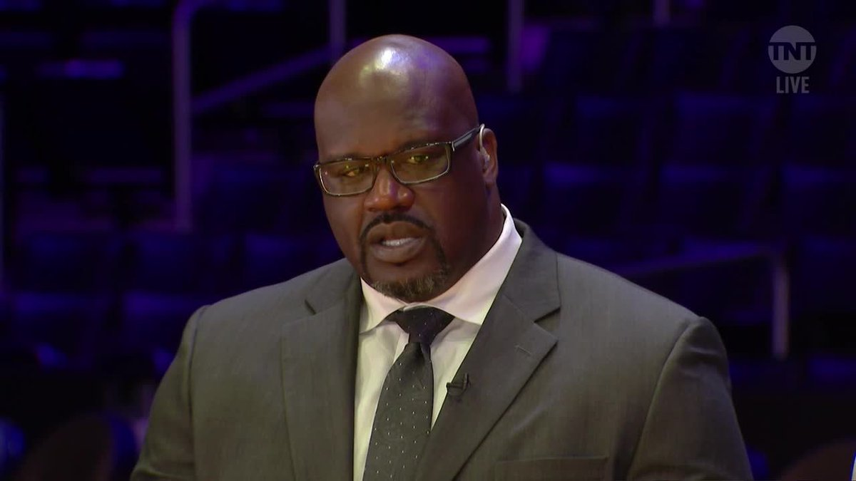 """""""Every time I see you guys, expect an 'I love you.'"""" - @SHAQ ❤️"""