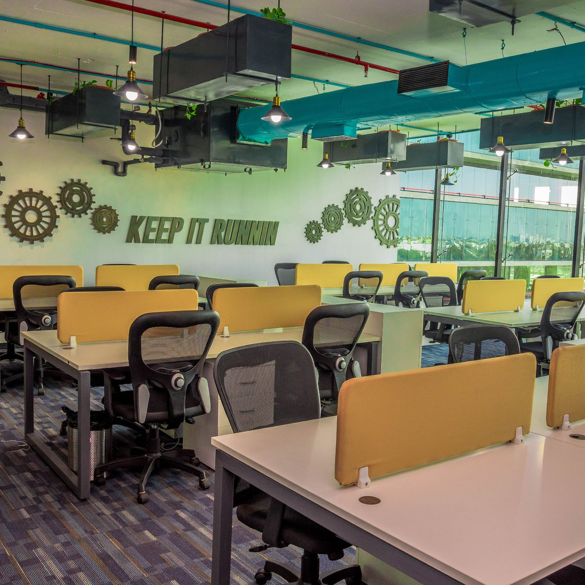 When workspace so cool, who would want to leave 💯   #Incuspaze #officespace #office #workspace #coworking  #business #coworkingspace #work #entrepreneur #smartoffice