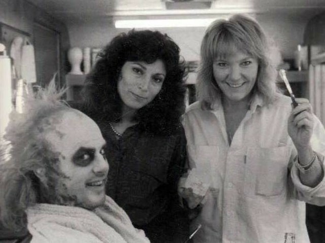 CMS Director of Education, #VeNeill, and two-time Oscar-winning makeup artist #YolandaToussieng pose with #MichaelKeaton on the set of the Fantasy/Horror film #Beetlejuice (1988) https://t.co/AJyF3rh3Gt https://t.co/nAhRXuOPdH