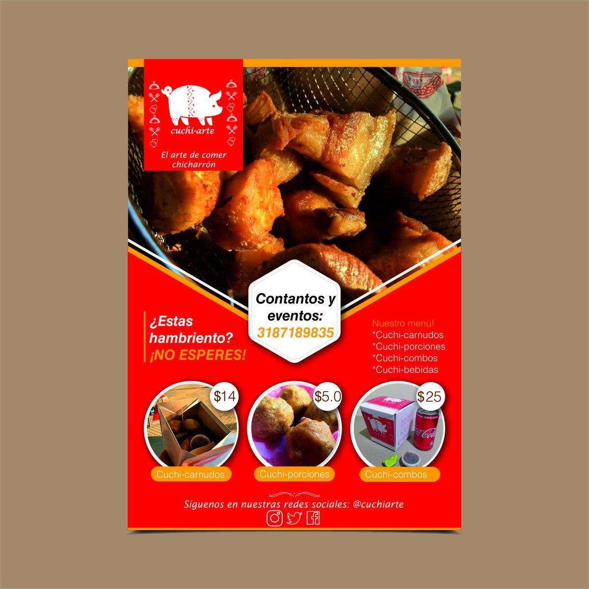 ¿Estas hambriento?, ¿necesitas recargar energía? 🥵😢, no esperes más! 😍😋 Te esperamos en Cuchi-Arte, para que disfrutes el verdadero arte de comer chicharrón! 😋🥓🐷#cuchiarte #cali #foodie #instafood #foodporn #instagood #igerscolombia #chicharron #torreznos #foodtruck