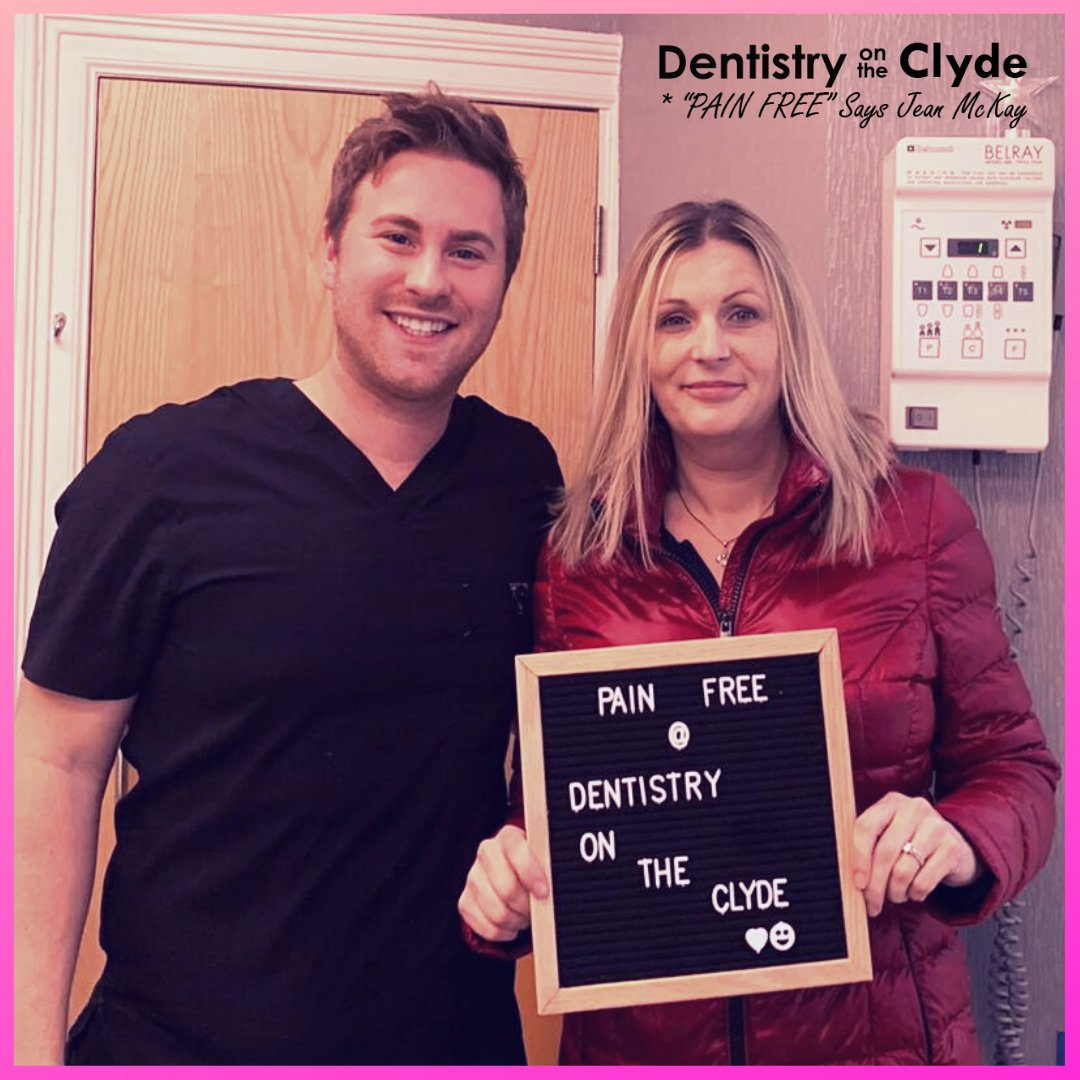 Pain free dentistry guaranteed or your money back!! For more information on our Pain Free Promise or to book please CLICK THE LINK IN OUR BIO OR CALL US ON 01475 779065   #GUARANTEED #selfie #amazing #dentalimplants