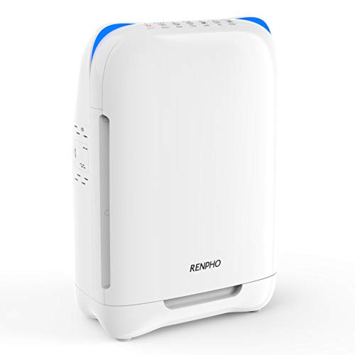 Use code 66R1SALO . RENPHO Air Purifier for Allergies and Pets, Air Purifiers for Home Large Room with True HEPA Filter,.    #amazon #deals #discount #offer #Home