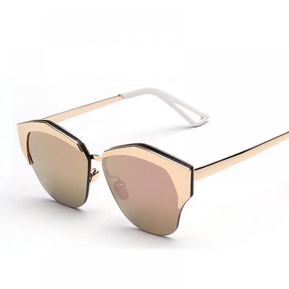 #shoes #pretty Women's Vintage Gradient Semi-Rimless Sunglasses